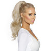 Cashmere Hair Platinum Blonde Russian Remy hair ponytail extensions