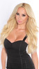 """20"""" Lightest Blonde Cashmere Hair Clip In Hair Extensions"""