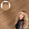 Natural Blonde Cashmere Hair Clip In Hair Extensions