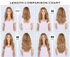 LENGTH COMPARISON CHART (Shade Pictured: Rodeo Drive Blonde