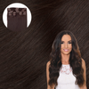 Cashmere Hair Dark Brown Clip In Hair Extensions