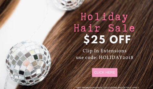 $25 OFF HOLIDAY HAIR SALE