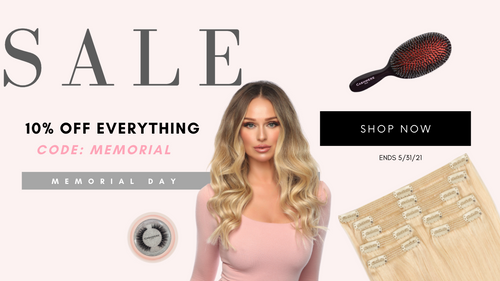 Last Day To Save! Memorial Day Sale: Celebrate With Us & Receive 10% Off Of Everything