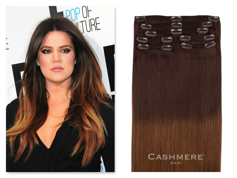 Bronzed Ombre Cashmere Hair