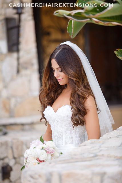 Cashmere Hair Extensions Bridal14