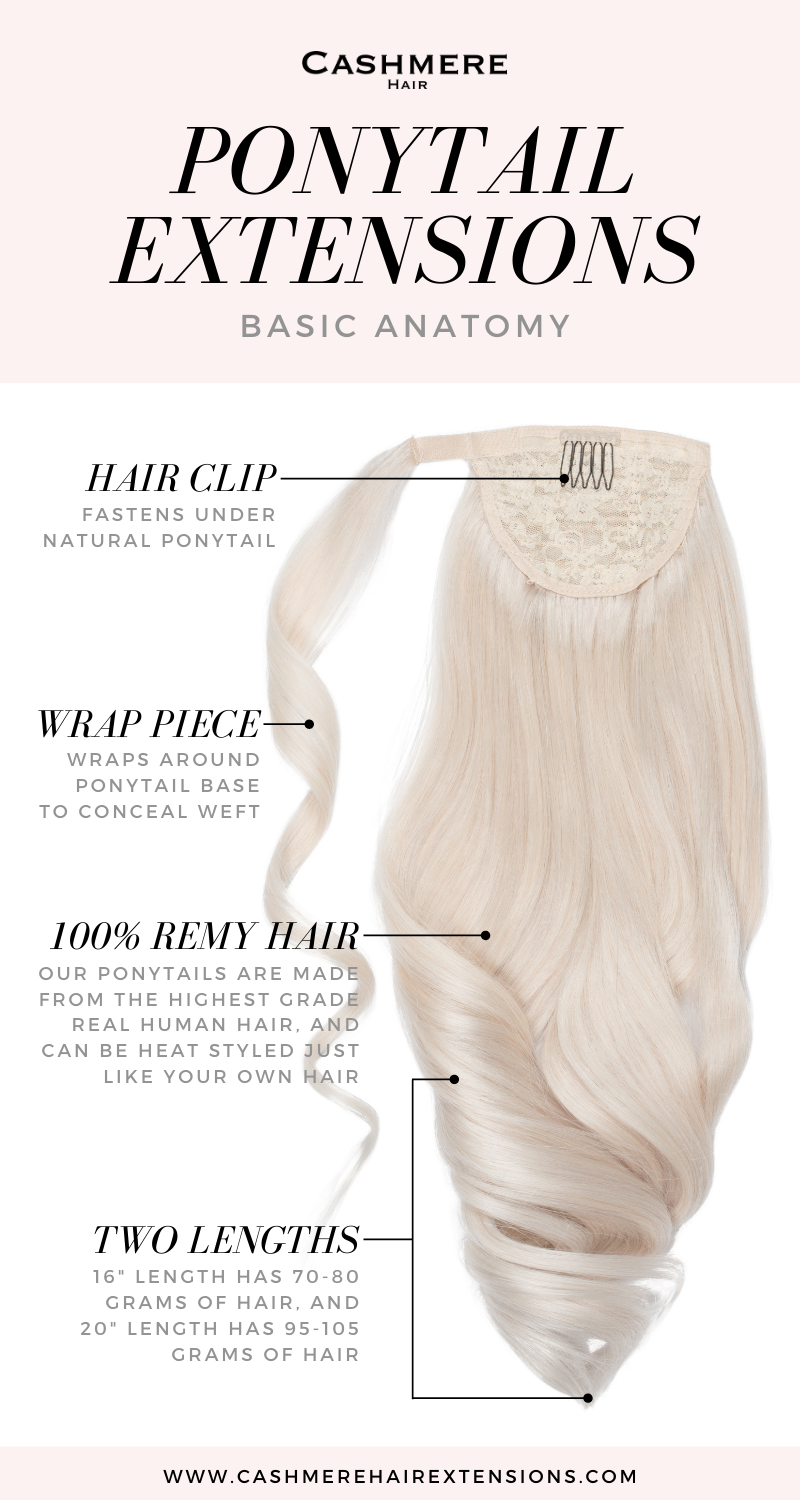 clip in ponytail extensions