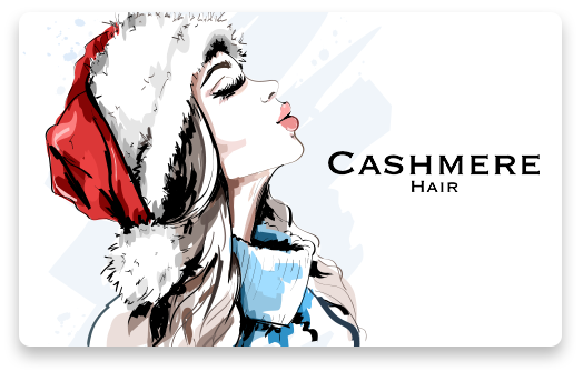 Cashmere Hair Mother's Day Gift Card