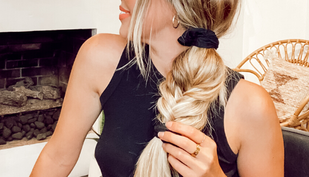Cashmere Hair Holiday Hair Inspired Tutorial