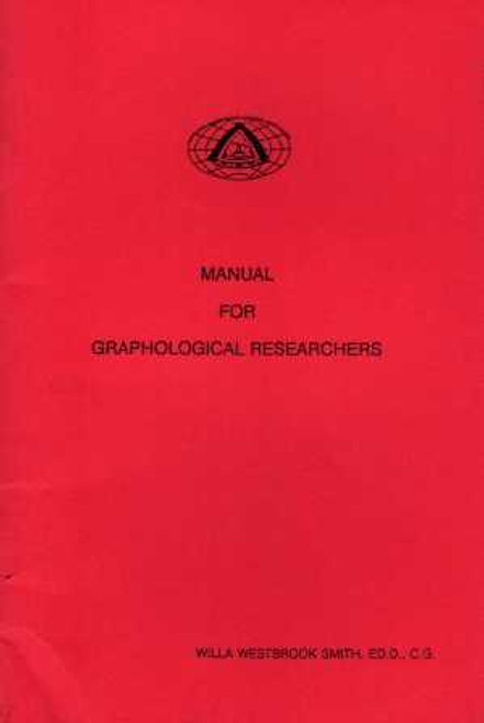 Manual for Graphological Researchers