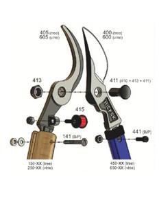 Lopper Nut & Bolt - Hickory Handles