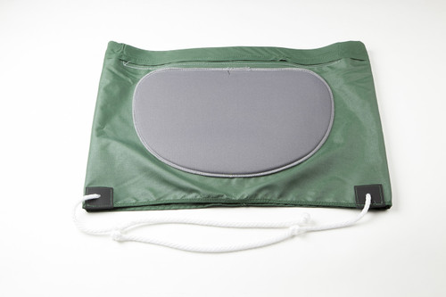 Sewn in padded insert.