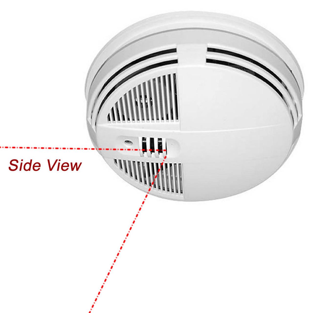 Smoke Detector Night Vision Hidden Camera W Wifi Remote View 90