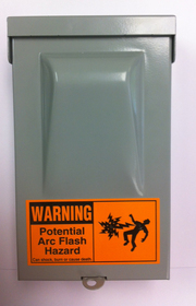 Outdoor Electrical Box Hidden Camera w/ DVR & Battery
