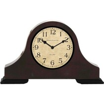 Wood Desk Clock Hidden Camera w/ DVR & Battery