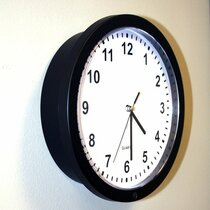 Wall Clock Hidden 4K Camera w/ DVR (90-Day Standby Battery)