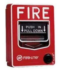 Fire Alarm Pull Station Hidden Camera w/ DVR & Battery