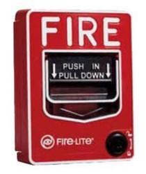 Fire Alarm Pull Station Hidden Camera w/ DVR & Battery