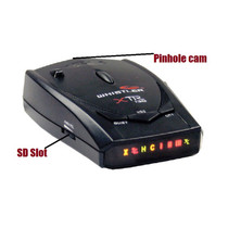 Radar Detector Hidden Camera w/ DVR & Battery Option