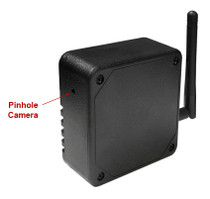 Black Box Flat 4K Hidden Camera w/ DVR & WiFi Remote View