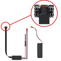 DIY Hidden Camera w/ DVR & Wifi Remote Streaming Kit