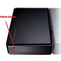 Hard Drive Case Hidden Camera w/ DVR & WiFi Remote View