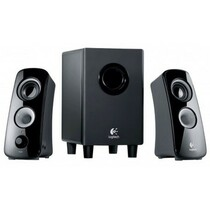 Logitech Computer Speakers Hidden Camera w/ DVR & WiFi Remote View