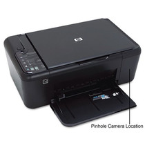 Computer Printer Hidden Camera w/ DVR & WiFi Remote View