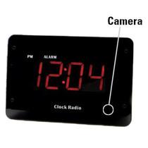 Clock Radio Hidden Camera w/ Night Vision & Wifi Live Viewing