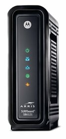 Computer Modem Hidden Camera w/ DVR, WiFi Remote View & Battery Option