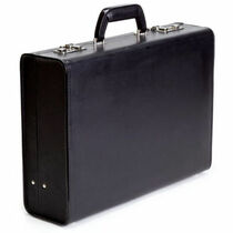 Portable Briefcase Dual Hidden Camera w/DVR & 12 Hour Battery