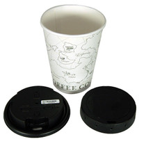 Coffee Cup Lid Hidden Camera  w/DVR &  Local Wi-Fi Remote Viewing
