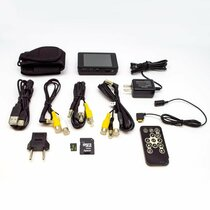 Lawmate PV-500ECO2 Analog Button Hidden Camera Kit + Handheld DVR w/ RCA Connections