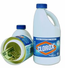 Clorox Bleach Bottle Hidden Camera w/ DVR & WiFi Remote Viewing + Battery