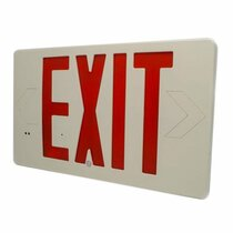 Exit Sign 4K Hidden Camera w/ Night Vision & DVR + 90-Day Standby Battery