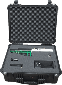 TSCM Professional Investigation Bug Sweep Kit (Includes Wide Spectrum RF Detector, Magnetic Field Detector, IR Imaging Camera, Camera Lens Finder, and Precise directional RF Detector)