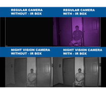 IR  Illuminator Box Allows 25ft Night Vision for Any Camera