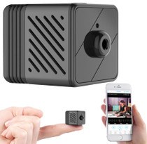 MiniCube 1080P Wi-Fi Camera w/ 20' Night Vision, Remote View & 90 Day Stand-by Battery