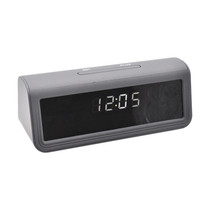 Digital Alarm Clock 4K Hidden Camera w/  DVR, Night Vision & WiFi Remote View