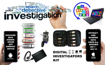 Complete Digital Forensic Data Recovery Investigators Kit