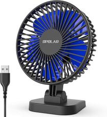 Desktop Fan Hidden 4K Camera w/ DVR & WiFi Remote View