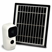 Solar Outdoor Camera w/  Two-Way Talk, DVR, Night Vision & WiFi Remote Viewing