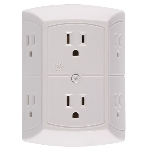 6-Power Outlet HD Hidden Camera w/ Motion Activation