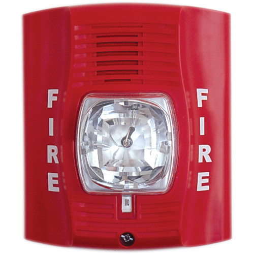 Fire Alarm Strobe Light Hidden Camera w/ DVR & Battery