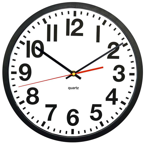 Wall Clock Hidden Camera w/ DVR & Battery