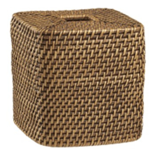 Wicker Tissue Box Cover Hidden Camera w/ DVR & Battery