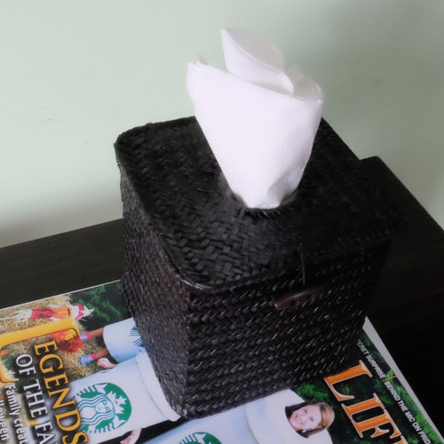 Tissue Box Hidden Camera w/ DVR & 30 Day Battery