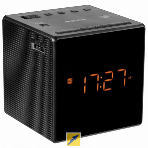 Sony Cube Clock Radio 4K Hidden Camera w/ DVR & WiFi Remote View