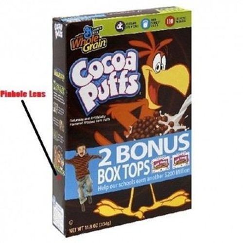 Cereal Box Hidden Camera w/ WiFi Remote View & 20 Hour Battery