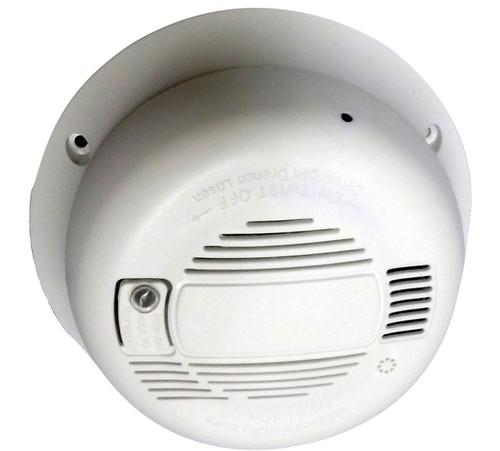 Smoke Detector Hidden Camera (Horizontal) w/ DVR & WiFi Internet Remote Live View