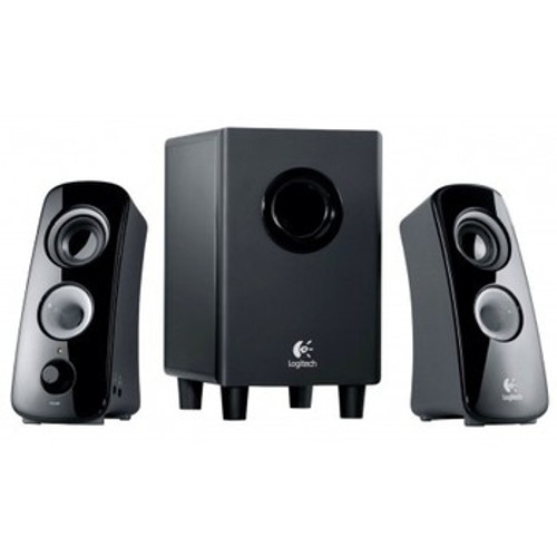 Logitech Computer Speakers Hidden Camera w/ DVR & WiFi Remote View